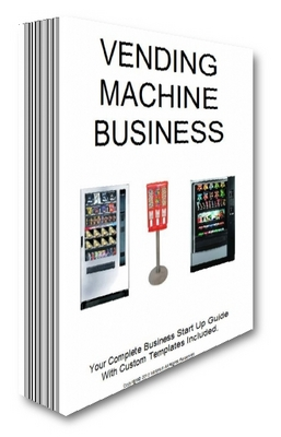 Product picture Vending Business Startup Guide How To Start A Vending Business